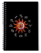 Zodiac Transparent Spiral Notebook