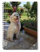 Zoey Towel Spiral Notebook