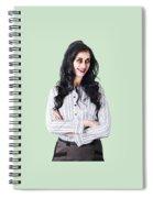 Zombie Businesswoman Spiral Notebook