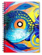 Blue Tongued Happy Boy Spiral Notebook