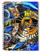 Crossover Fish Spiral Notebook