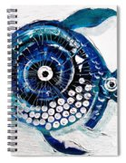 Enter The Icehole Fish Spiral Notebook
