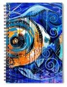 Fire Belly Shadow Spiral Notebook