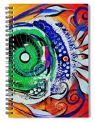 Happy Fish Compliments Transcending Time Spiral Notebook