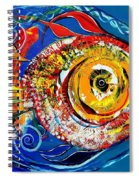 San Antonio Fish Spiral Notebook