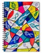 Twenty Plus Fish Triangulated Or Not Spiral Notebook