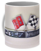 427 Turbo Jet Corvette Emblem Coffee Mug