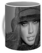 # 5 Adriana Lima Portrait Coffee Mug