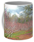 A Peach Orchard   Coffee Mug