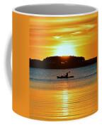 A Reason To Kayak - Summer Sunset Coffee Mug