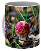 Amanita Muscaria Commonly Known As The Fly Agaric Or Fly Amanita Coffee Mug
