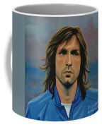 Andrea Pirlo Coffee Mug by Paul Meijering