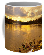 Androscoggin River Between Lewiston And Auburn Coffee Mug