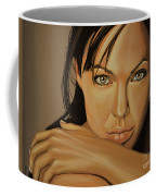 Angelina Jolie 2 Coffee Mug