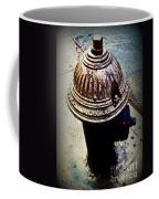 Antique Fire Hydrant - Blue Tones Coffee Mug