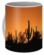 Arizona Sagurao Sunset Coffee Mug
