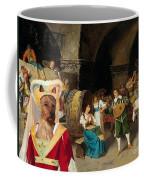 Australian Terrier Art Canvas Print Coffee Mug