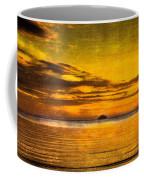 Autumn Sunset Over Ailsa Craig Coffee Mug