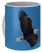 Bald Eagle In Flight 6 Coffee Mug