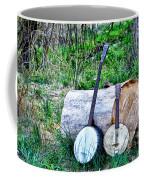 Banjos At The Woodpile Coffee Mug