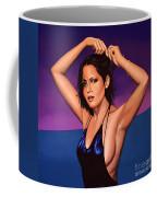 Barbara Carrera Painting Coffee Mug