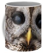 Barred Owl Eye's Coffee Mug