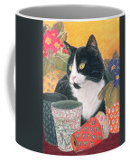 Bhajii And Flowerpots Coffee Mug
