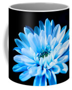 Blue Chrysanthemum Coffee Mug