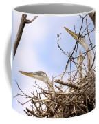 Blue Heron Rookery 7214 Coffee Mug