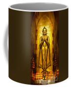 Buddha Inside Ananda Temple - Bagan - Myanmar Coffee Mug