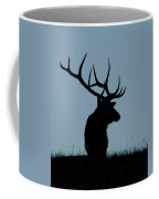 Bull Elk At First Light Coffee Mug