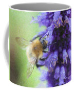 Bumblebee On Buddleja Coffee Mug