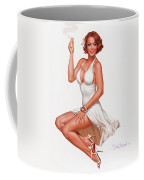 Camel Girl In White Coffee Mug
