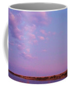 Cape May Point Lake And Clouds Coffee Mug