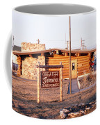 Chamber Of Commerce Log Cabin Fairbanks Alaska 1969 Coffee Mug
