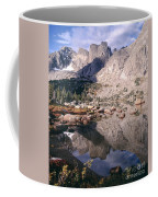 Cirque Of The Towers In Lonesome Lake   Coffee Mug