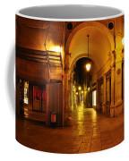 Clock Tower Venice Italy And The Path To Merceria Coffee Mug