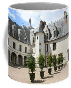Courtyard Chateau Chaumont Coffee Mug