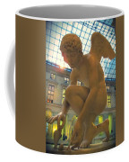 Cupid Playing With A Butterfly - Louvre Museum Paris Coffee Mug