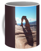 Delicate Arch And Shadow Coffee Mug