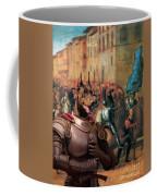 Doberman Pinscher Art -entree De Charles Viii Dans Florence Coffee Mug
