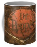 Dr Pepper Vintage Sign Coffee Mug by Bob Christopher