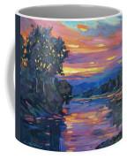 Dusk River Coffee Mug