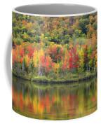 Echo Lake Fall Reflections Coffee Mug
