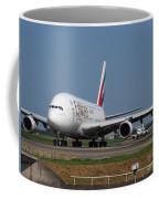 Emirates Airbus A380 Coffee Mug