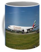 Emirates Boeing 777 Coffee Mug