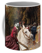 English Bulldog Art Canvas Print - Les Fiances Coffee Mug