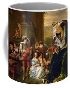 English Bulldog Art Canvas Print - The Garden Party Coffee Mug