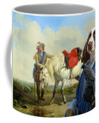 English Springer Spaniel Art Canvas Print Coffee Mug