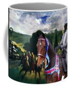 Entlebucher Sennenhund  - Entelbuch Mountain Dog Art Canvas Print -who Is The Winner Of The Race Coffee Mug